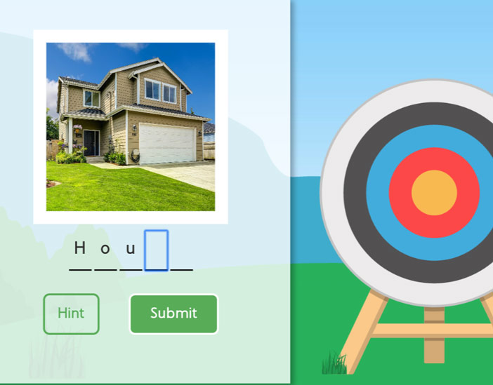 Archery Speller Game