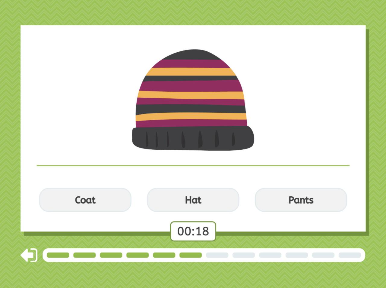 Clothes - Quiz screenshot