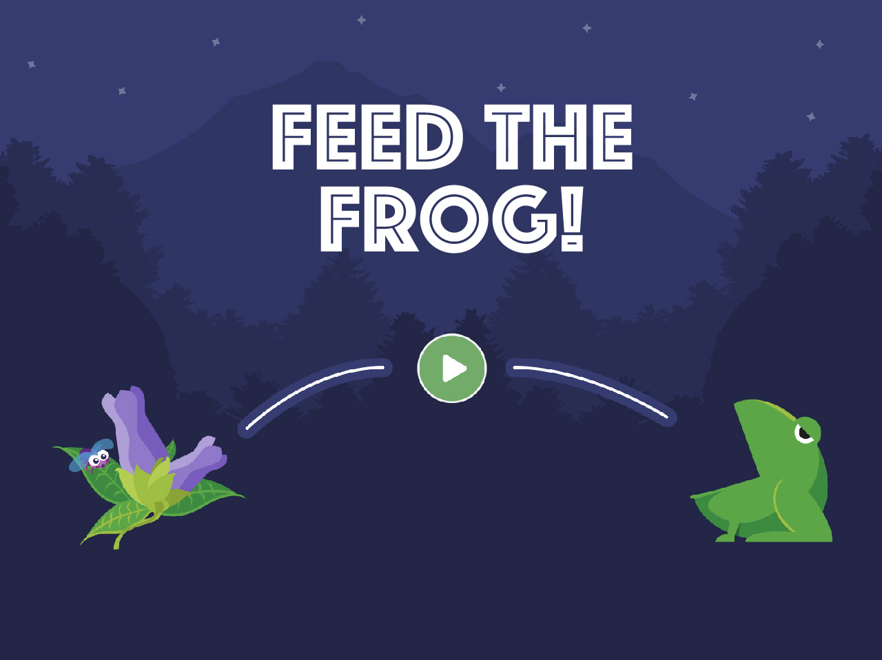 Feed The Frog screenshot 1