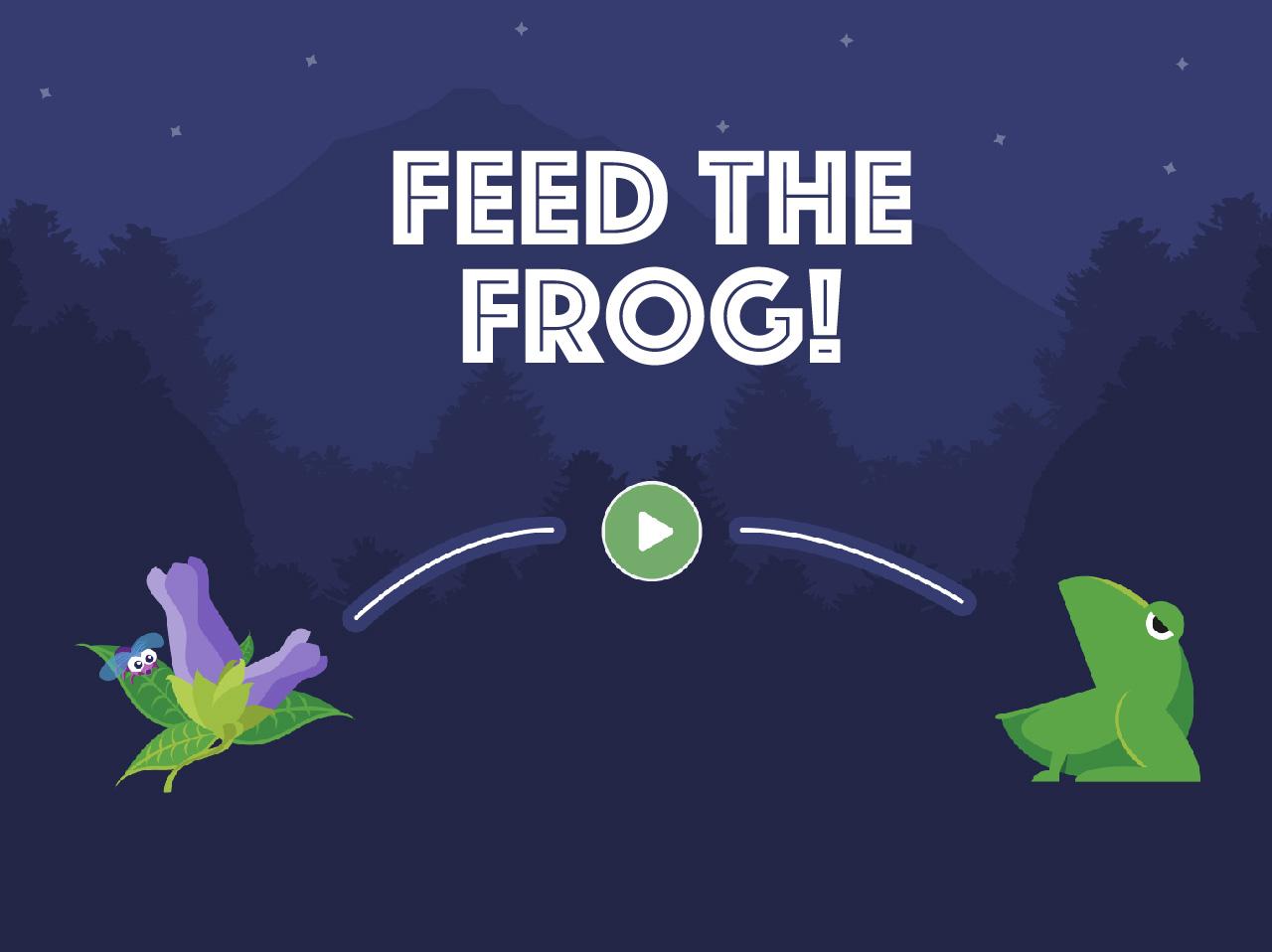 Feed The Frog screenshot 1